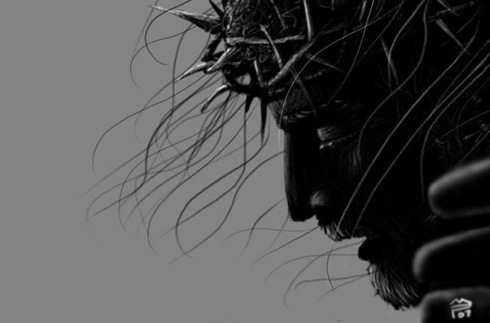Crucified_Jesus__the_face_by_DevCageR.jpg