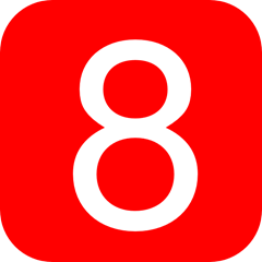 red-rounded-square-with-number-8-hi