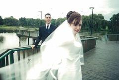 claire wedding reception