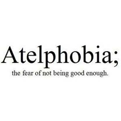 atelphobia
