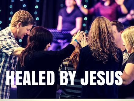 HEALED BY JESUS