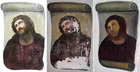 art restoration bad